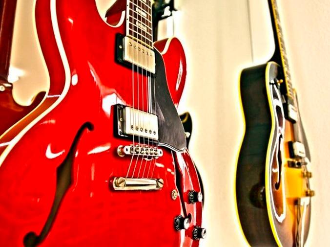 Cromado en guitarras eléctricas